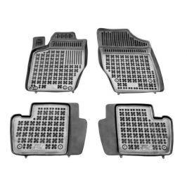 REZAW-PLAST Gumové koberce, černé, sada 4 ks (2x přední, 2x zadní), Citroen C4 I Hatchback 2004-2010, C4 II od r. 2011; Peugeot 307 2001-2007