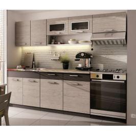 Kuchyně MORENO II 180/240 cm, dub picard