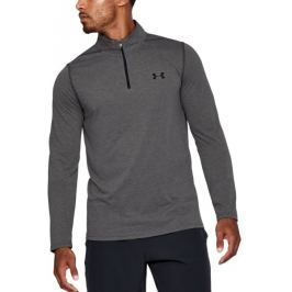 Under Armour Threadborne Fitted 1/4 Zip Carbon Heather Black M