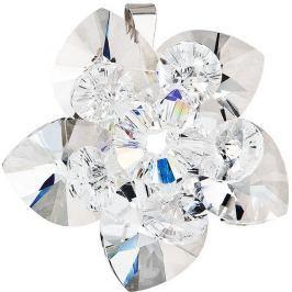 Evolution Group Přívěsek Leknín 34072.1 krystal stříbro 925/1000