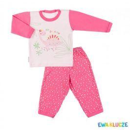Ewa Klucze dívčí pyžamo Little Moon 80 růžová