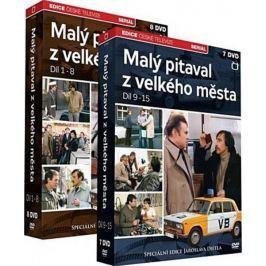 Malý pitaval z velkého města  (15DVD)    - DVD