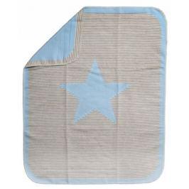 David Fussenegger Deka JUWEL 70×90 cm Hvězda modrá