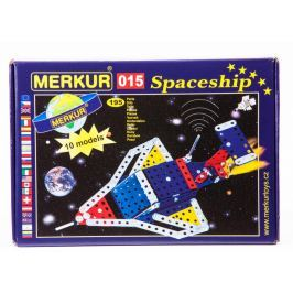 Merkur Stavebnice 015 Raketoplán 10 modelů 195ks