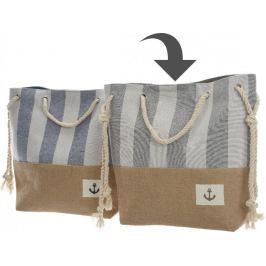 Kaemingk Plážová taška s lanovými uchy, šedá