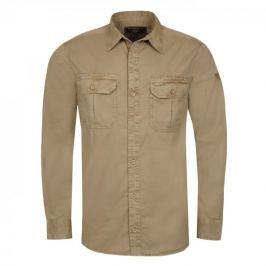 Bushman Košile ROGERS, světle hnědá, L