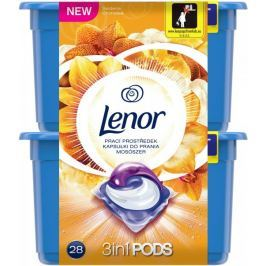 Lenor gelové kapsle Silk Orchid 28 ks