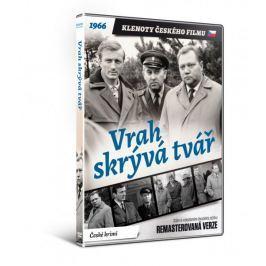 Vrah skrývá tvář   - edice KLENOTY ČESKÉHO FILMU (remasterovaná verze) - DVD