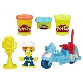 Play-Doh Town Policista na motorce