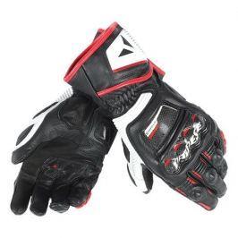 Dainese rukavice DRUIDS D1 LONG vel.XL černá/bílá/červená (láva) (pár)