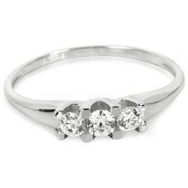 Brilio Prsten z bílého zlata 229 001 00707 07 - 1,50 g (Obvod 56 mm) zlato bílé 585/1000