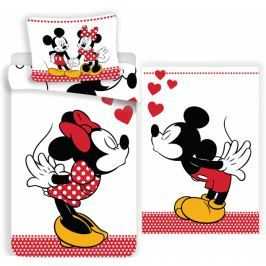 Jerry Fabrics Povlečení oboustranné Mickey and Minnie in love