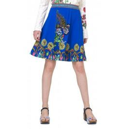 Desigual dámská sukně Henry XS modrá