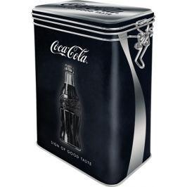 Postershop Plechová dóza s klipem Coca-Cola