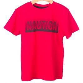 Nautica chlapecké tričko 110 červená