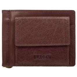 Lagen Pánská kožená peněženka W-2010 Brown
