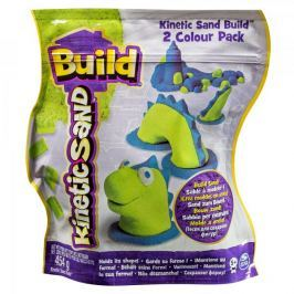Kinetic Sand BUILD - zelená/modrá