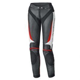 Held kalhoty dámské LANE 2 vel.40 černá/bílá/červená, kůže