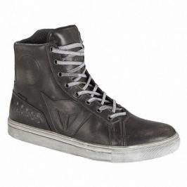 Dainese kotníkové boty STREET ROCKER D-WP vel.41 černá, kůže (pár)