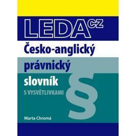 Chromá Marta: Česko-anglický právnický slovník
