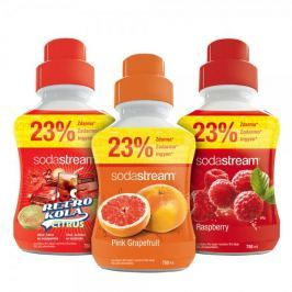 Sodastream Sada Grep/Malina/Retro 750 ml