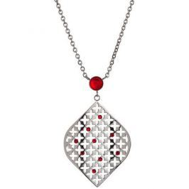 Preciosa Náhrdelník Florissa s krystaly Light Siam 7231 57