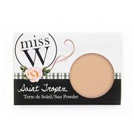 Miss W Sluneční pudr Saint Tropez (Sun Powder) 13,5 g (Odstín Golden Beige )