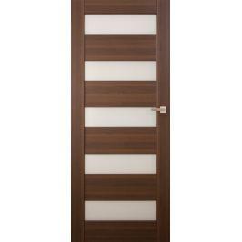 VASCO DOORS Interiérové dveře SANTIAGO kombinované, model 7, Bílá, A