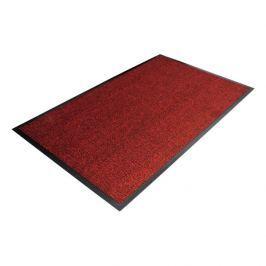 Červená textilní čistící vnitřní vstupní rohož - 120 x 90 cm