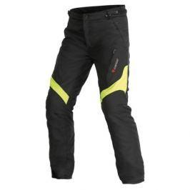 Dainese pánské kalhoty TEMPEST D-DRY vel.50 černá/fluo žlutá, textil