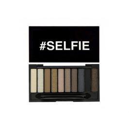 Makeup Revolution Sloganová paletka #SELFIE s mini podkladovou bází pod oční stíny (Slogan Range Selfie With Mini Prim