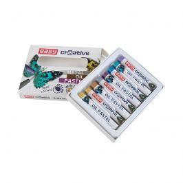 EASY - Olejové pastely, METAL - 8 barev