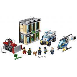 LEGO - Vloupání Buldozerem