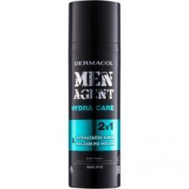 Dermacol Men Agent Hydra Care hydratační balzám po holení 2 v 1  50 ml