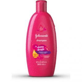 Johnson's Baby Shiny Drops dětský šampon s arganovým olejem od 18 měsíců  500 ml