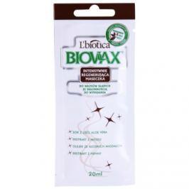 L'biotica Biovax Falling Hair posilující maska proti vypadávání vlasů  20 ml