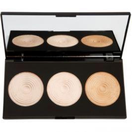 Makeup Revolution Radiance paleta rozjasňujících pudrů  15 g