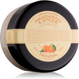 Mondial Luxury Bicolor krém na holení Mandarin and Spice 150 ml