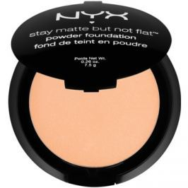 NYX Professional Makeup Stay Matte But Not Flat pudrový make-up odstín 11 Sienna 7,5 g