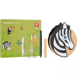 Zwilling Kids Jungle manikúrní set pro děti Zebra 4 ks