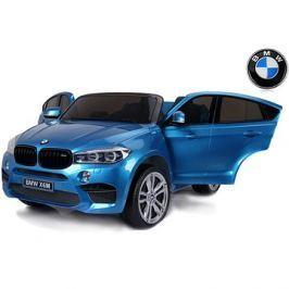 BMW X6 M modré lakované