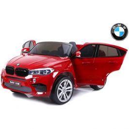 BMW X6 M červené lakované