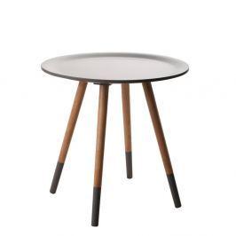 Šedý odkládací stolek Zuiver  Two Tone