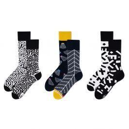 Set ponožek v dárkovém balení Many Mornings Geometric, vel.39–42