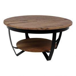 Odkládací stolek ze dřeva a kovu HSM collection Susan, 55 x 85 cm