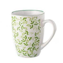 Zelenobílý hrnek Unimasa Meadow, 375 ml