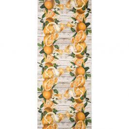 Vysoce odolný koberec Webtappeti Arance, 58x80cm