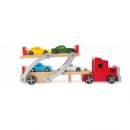 Dřevěný kamion na hraní Legler Transporter
