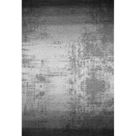 Šedočerný koberec Kate Louise, 80x150cm