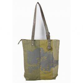 Khaki zelená plátěná taška Sorela Begonia